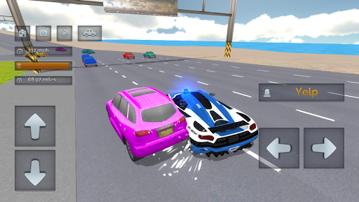 Police Car Crazy Drivers screenshots 2