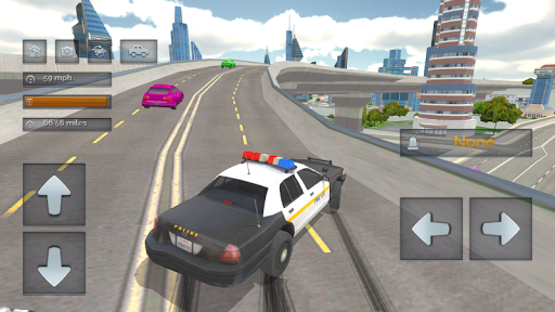 Police Car Crazy Drivers screenshots 3