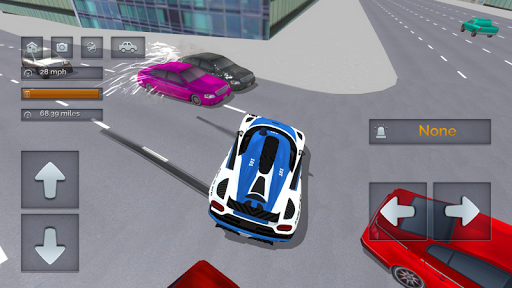 Police Car Crazy Drivers screenshots 4