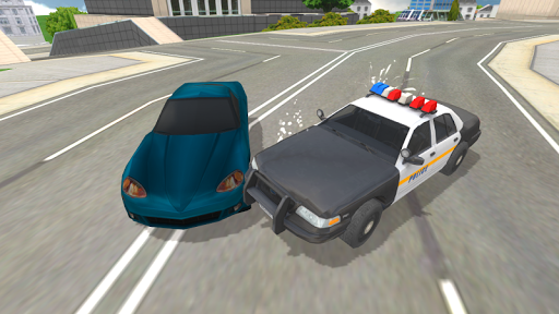 Police Car Crazy Drivers screenshots 6