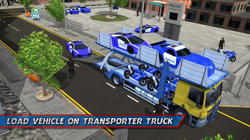 Police Car Transporter Ship 1.0.7 screenshots 1
