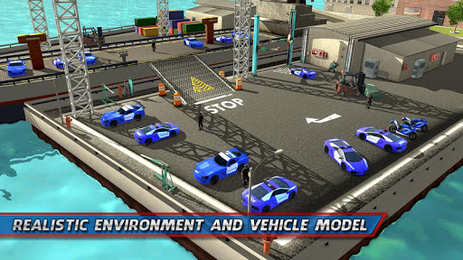 Police Car Transporter Ship 1.0.7 screenshots 11