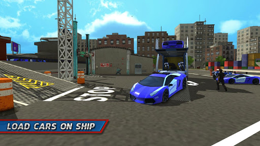 Police Car Transporter Ship 1.0.7 screenshots 16