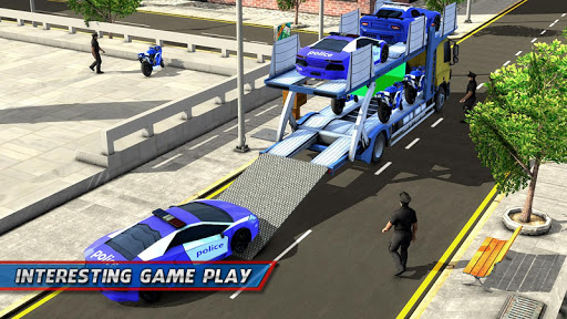 Police Car Transporter Ship 1.0.7 screenshots 6