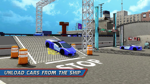 Police Car Transporter Ship 1.0.7 screenshots 7