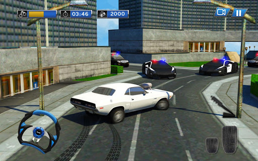 Police Chase Car Escape Plan Undercover Cop Agent 1.4 screenshots 8