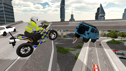 Police Motorbike Simulator 3D screenshots 4