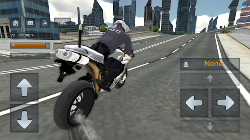 Police Motorbike Simulator 3D screenshots 6