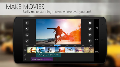 PowerDirector Video Editor App 4K Slow Mo amp More 4.10.1 screenshots 1