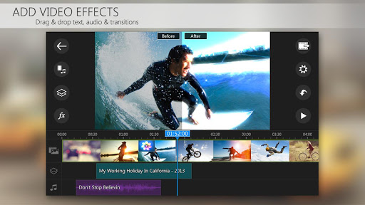 PowerDirector Video Editor App 4K Slow Mo amp More 4.10.1 screenshots 3