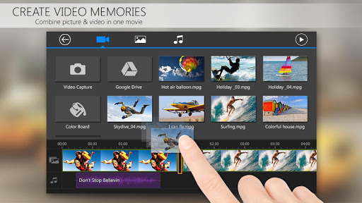 PowerDirector Video Editor App 4K Slow Mo amp More 4.10.1 screenshots 4