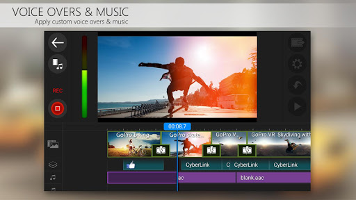 PowerDirector Video Editor App 4K Slow Mo amp More 4.10.1 screenshots 5