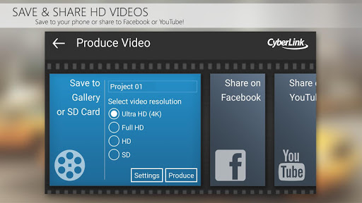 PowerDirector Video Editor App 4K Slow Mo amp More 4.10.1 screenshots 6