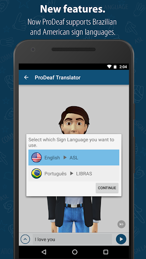 ProDeaf Translator 3.6 screenshots 3