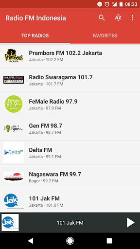 Radio FM Indonesia 6.1 screenshots 1