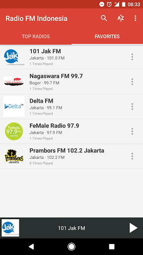 Radio FM Indonesia 6.1 screenshots 4