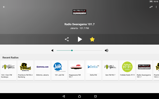 Radio FM Indonesia 6.1 screenshots 7