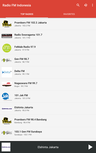 Radio FM Indonesia 6.1 screenshots 9