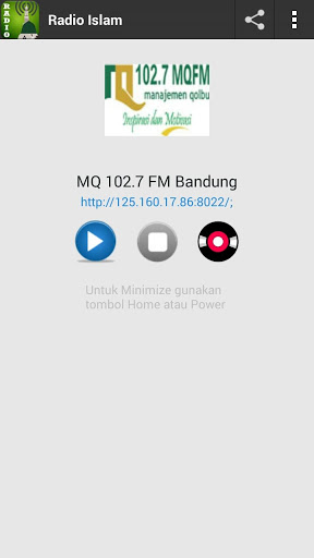 Radio Islam Nusantara 1.2 screenshots 2