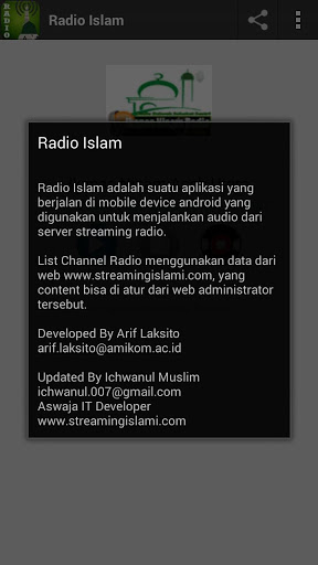 Radio Islam Nusantara 1.2 screenshots 3