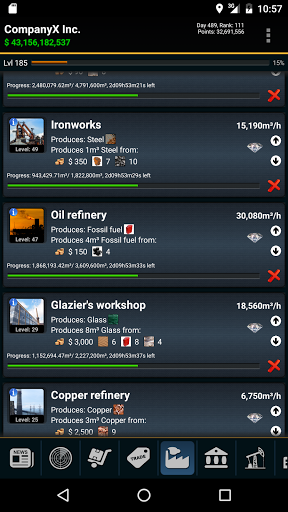 Resources – GPS MMO Game 1.6.5 screenshots 6