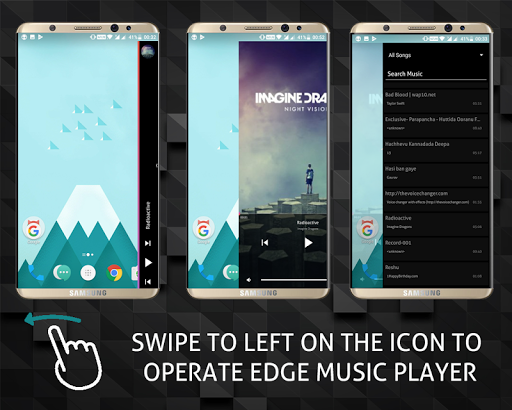 S8 Edge Music Player 7.0.0 screenshots 9
