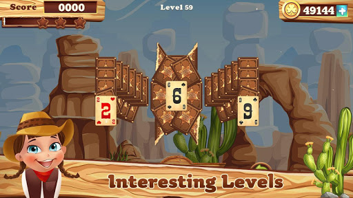 Solitaire match cowboy 1.0.13 screenshots 2