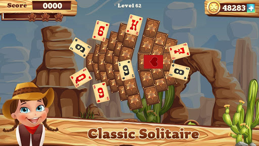 Solitaire match cowboy 1.0.13 screenshots 4