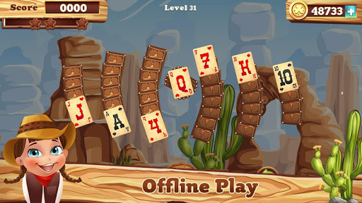 Solitaire match cowboy 1.0.13 screenshots 6