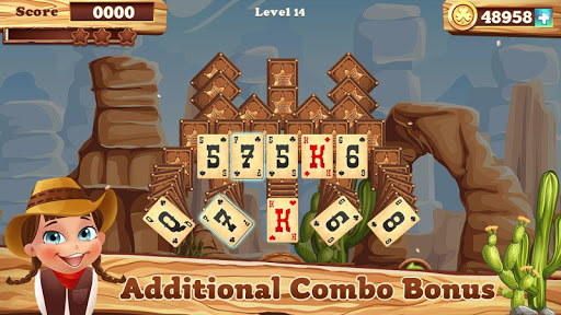 Solitaire match cowboy 1.0.13 screenshots 7
