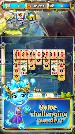 Solitaire pyramid card game for training brain 3.19 screenshots 10