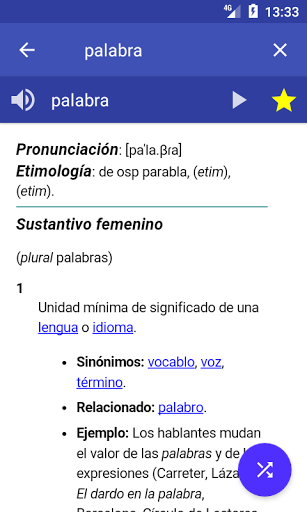 Spanish Dictionary – Offline 3.8 screenshots 1