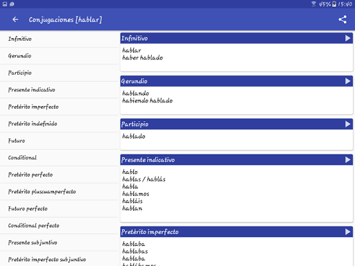 Spanish Dictionary – Offline 3.8 screenshots 12