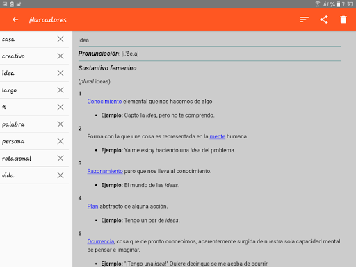 Spanish Dictionary – Offline 3.8 screenshots 13