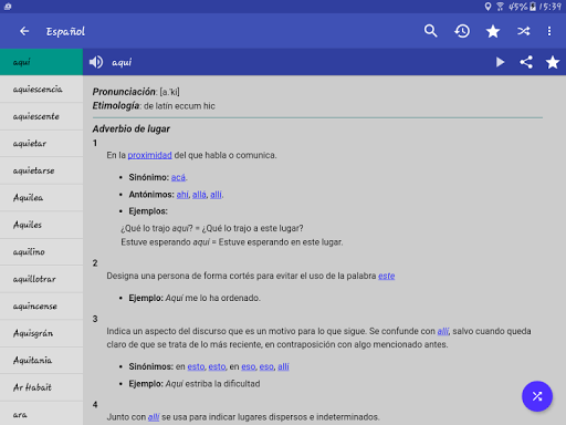 Spanish Dictionary – Offline 3.8 screenshots 9