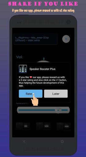 Speaker Booster Plus 1.5.5 screenshots 8