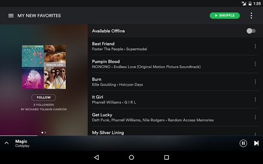 Spotify Music screenshots 10