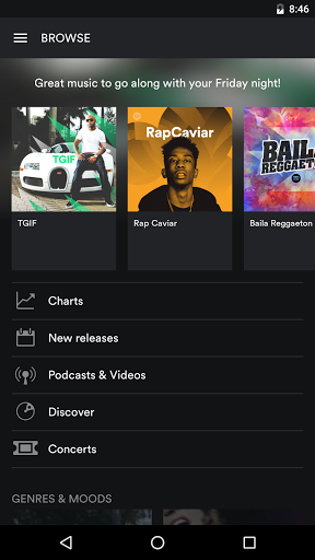 Spotify Music screenshots 3