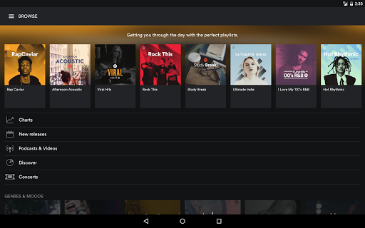 Spotify Music screenshots 6