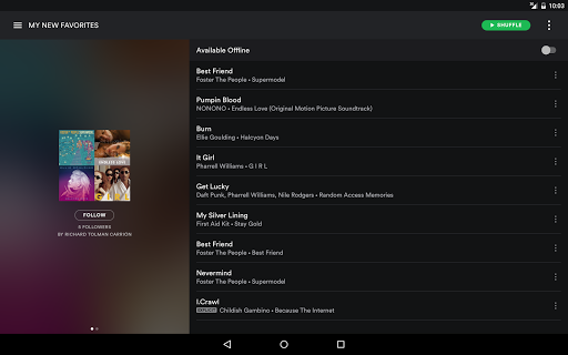Spotify Music screenshots 7