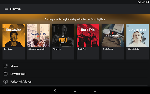 Spotify Music screenshots 9