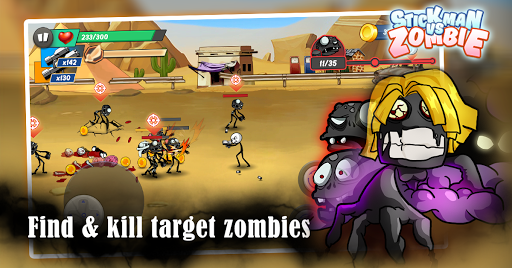 Stick vs zombie – Stickman warriors – Epic fight 1.2.2 screenshots 15