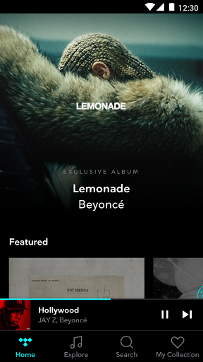 TIDAL – High Fidelity Music Streaming screenshots 1