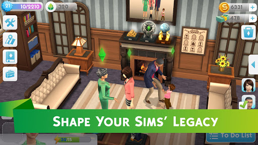 The Sims Mobile screenshots 3