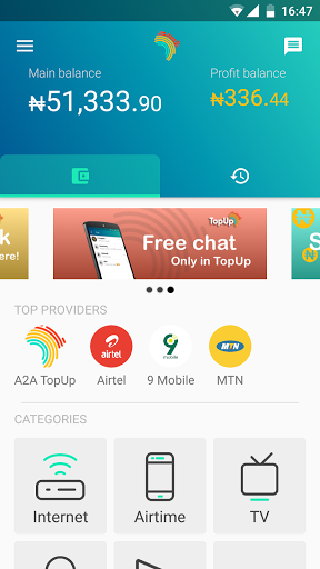 TopUp Africa screenshots 2