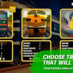 Free Download Train driving simulator 1.92 APK Unbegrenztes Geld