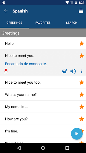 Travel Phrasebook Foreign Language Translator screenshots 3