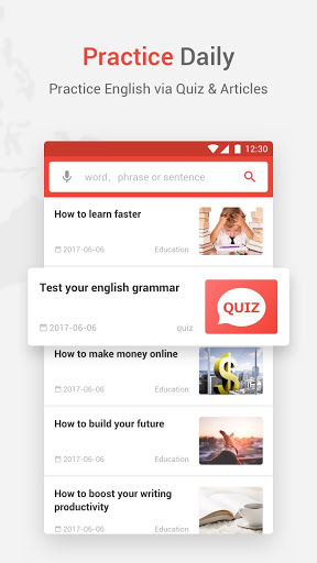 U-Dictionary Best English Learning Dictionary 3.4.1 screenshots 5