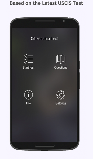 US Citizenship Test 2018 – Free App 9.5 screenshots 1