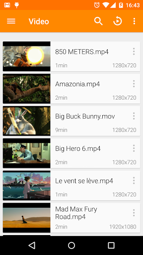 VLC for Android screenshots 1